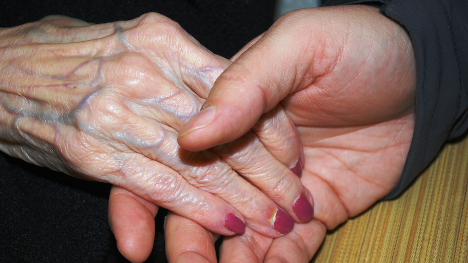 Older Adult Hands