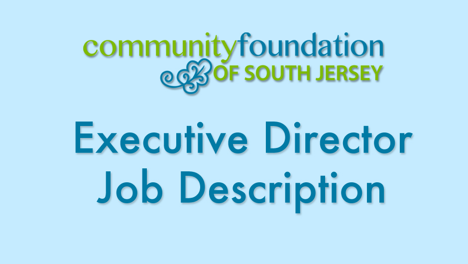 Cfsj Is Seeking New Executive Director  Community Foundation Of